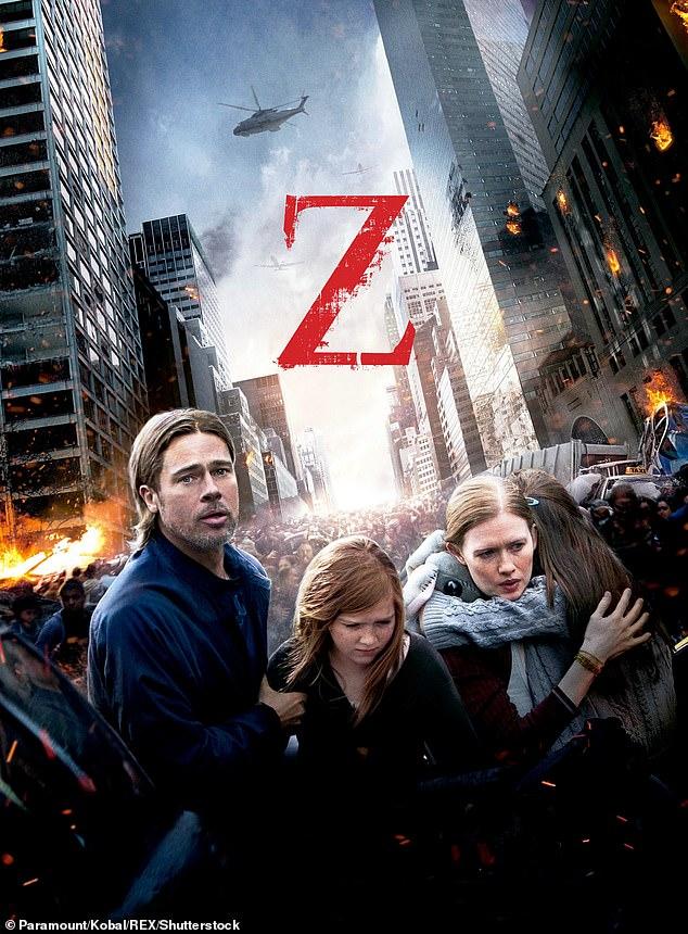 World War Z (2013) Dual Audio Hindi 400MB BluRay 480p ESubs