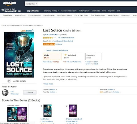 I'm Now A Bestselling Author (Sort Of)