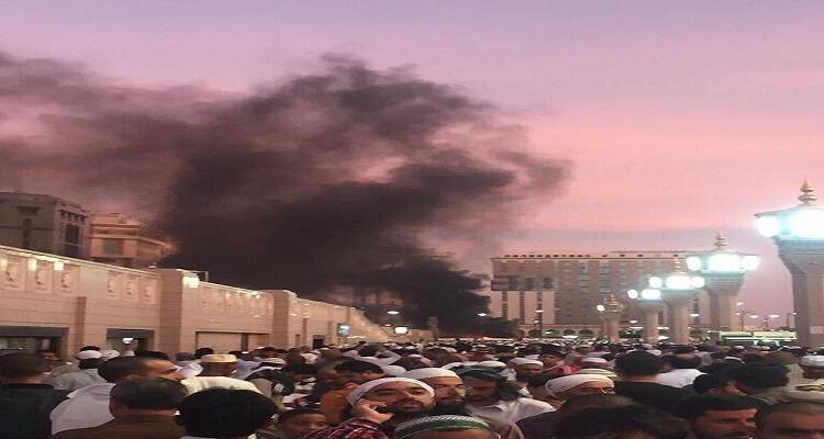 شاهد عيان يكشف تفاصيل صادمة عن انفجار الحرم النبوي