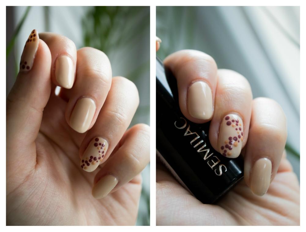 NAILS | Wariacje odcieniami nude - Semilac, NeoNail