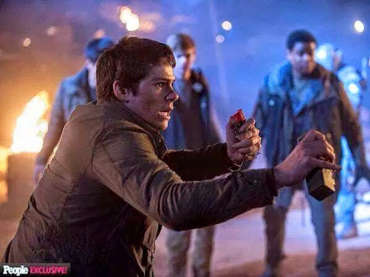 "STILLS DE THE SCORCH TRIALS ""A PRUEBA DE FUEGO""!"