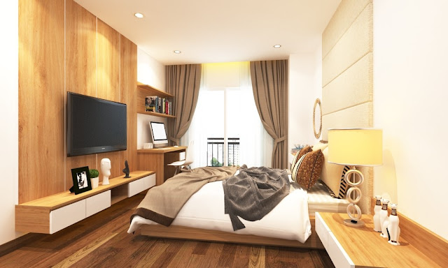 Hình ảnh thiết kế căn hộ Núi Trúc Square