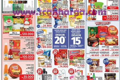 Katalog Promo Lottemart Weekday Awal Pekan 30 Juli - 1 Agustus 2018
