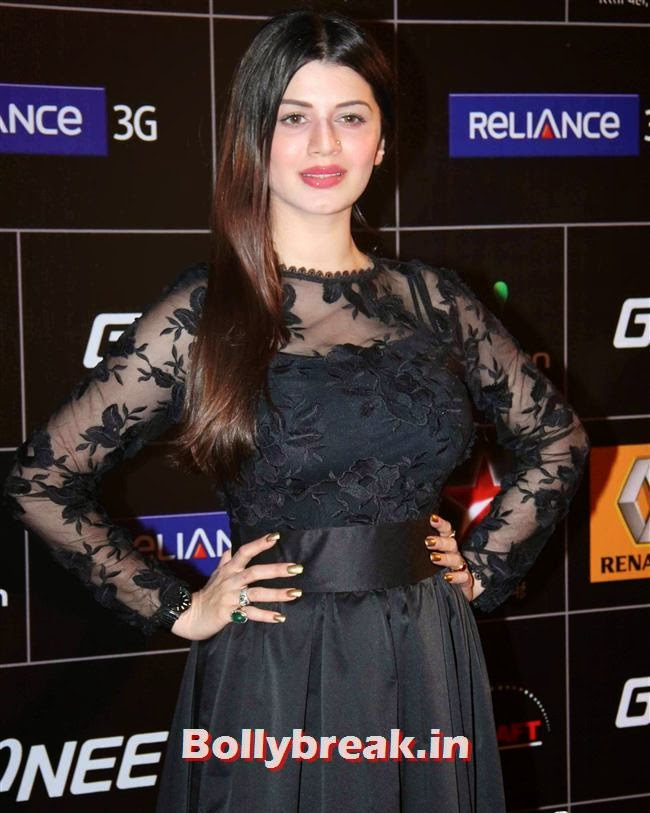 Kainaat Arora, Global Indian Music Awards 2014 Pics