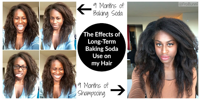 FroBunni | Baking soda vs shampoo on natural hair