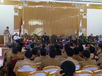 Aparatur Pemerintah Kampung dan Kelurahan se-Kabupaten Waykanan Mendapat Pembinaan Dari Polda Lampung