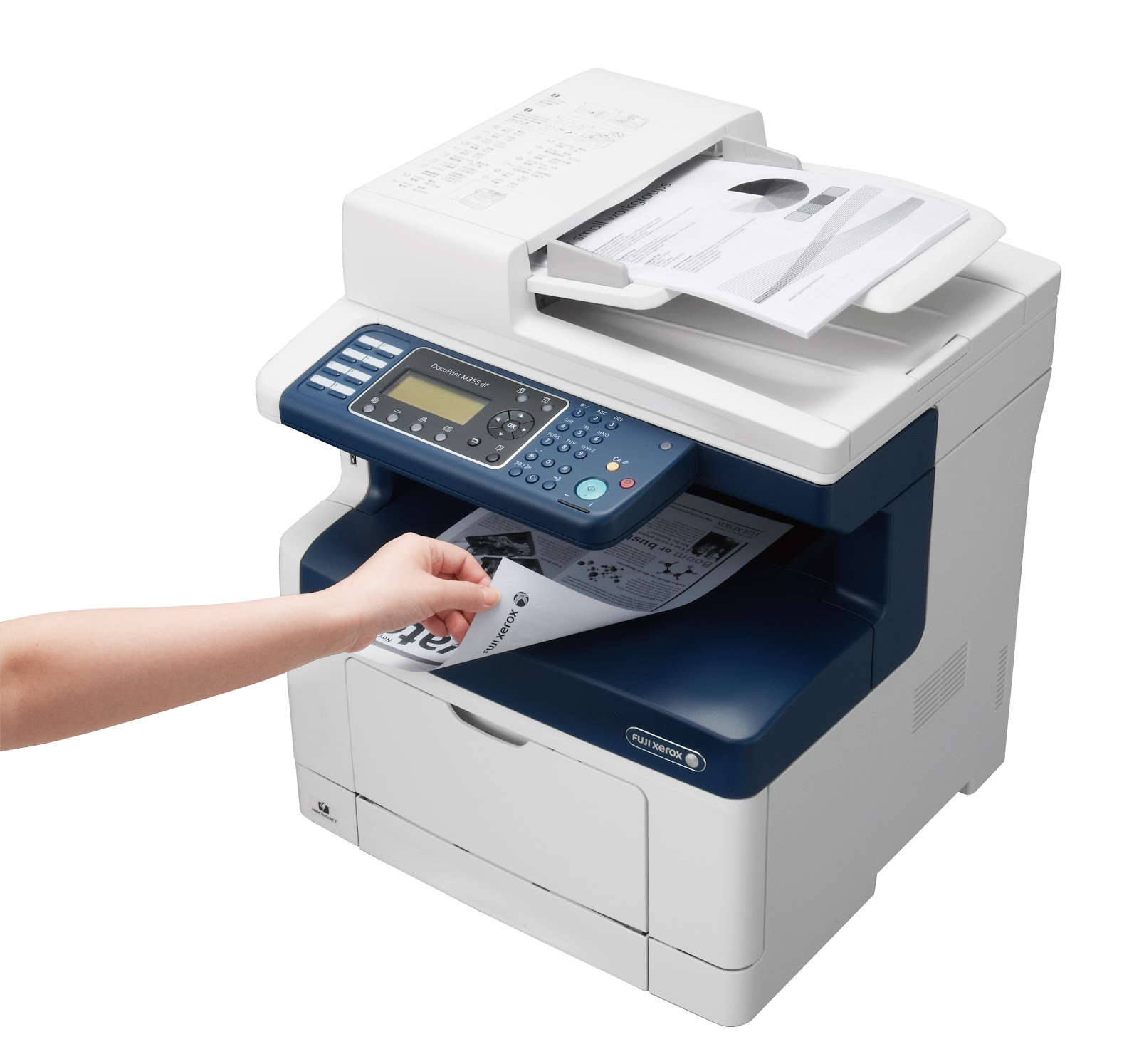 Free Download Printer Driver Fuji Xerox DocuPrint M355df - All