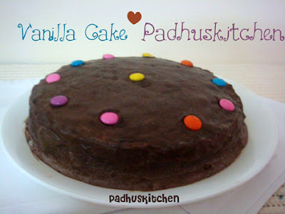 Vanilla Cake Recipe Pressure Cooker