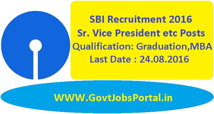 sbi bank recruitment online application 2016