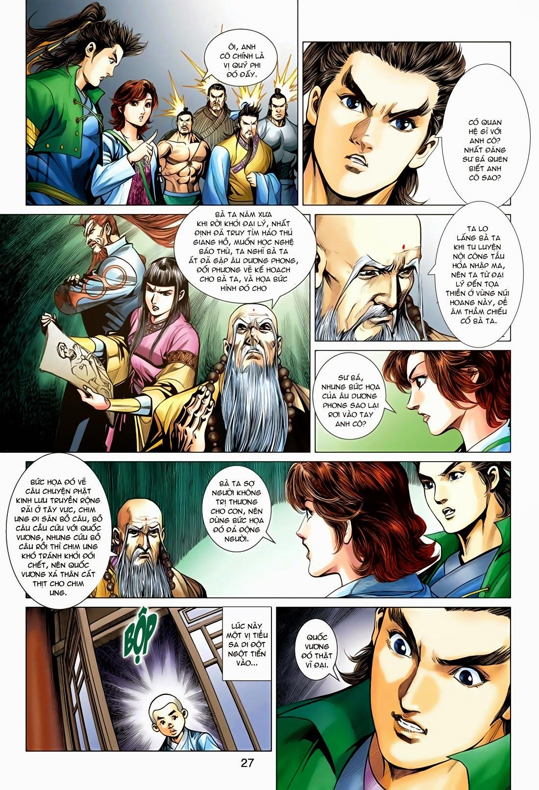 Anh Hùng Xạ Điêu anh hùng xạ đêu chap 78: sát anh trang 27