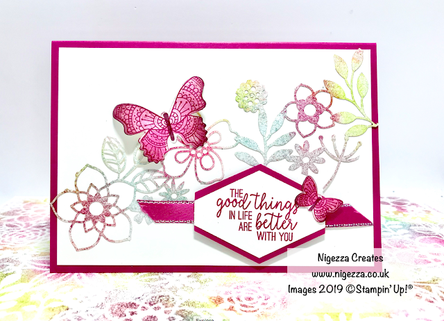 Stampin' Up! Delicately Detailed Laser Cut DSP One Sheet Wonder Nigezza Creates