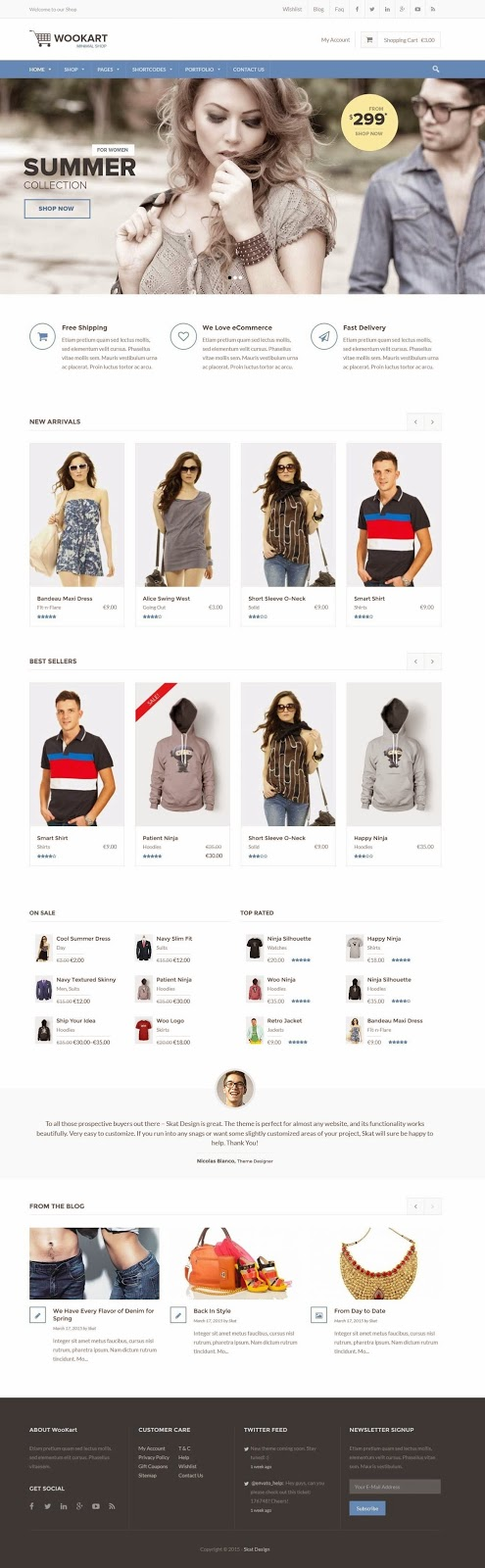 Best WooCommerce Shop WP Theme 2015