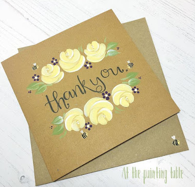Beautiful Vintage roses and cute bees! We love it!