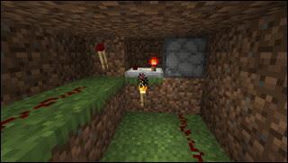 Minecraft 自動花栽培機 骨粉を出すディスペンサー
