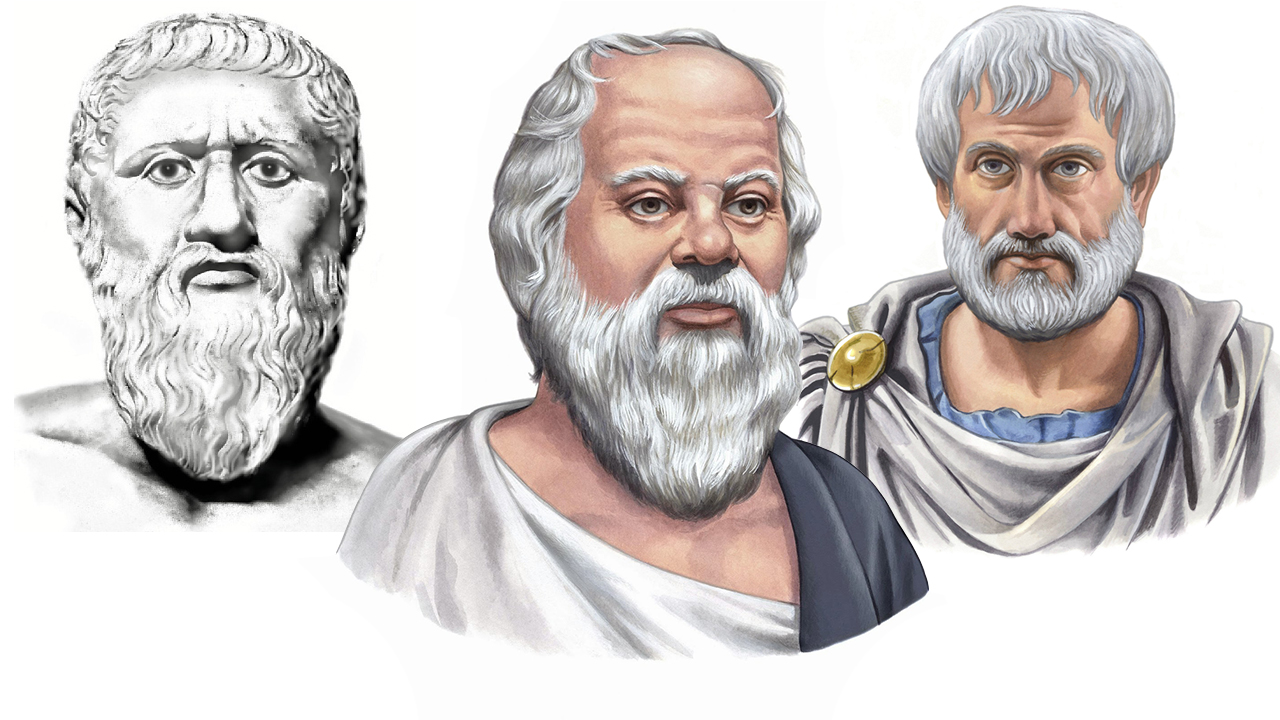 Platón, Sócrates y Aristóteles