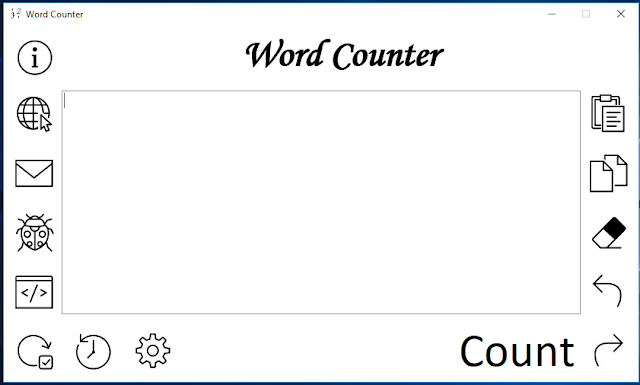 Word Counter source code