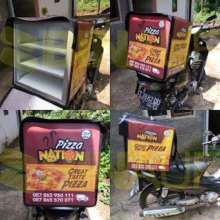 Tas delivery box makanan surabaya pizza nation