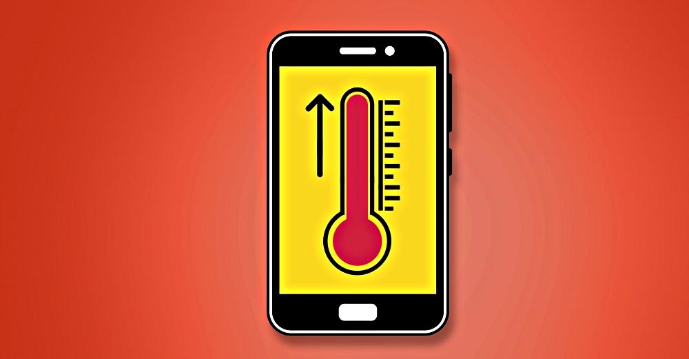 حل مشكلة سخونة وارتفاع درجة حرارة شاشة الهاتف
