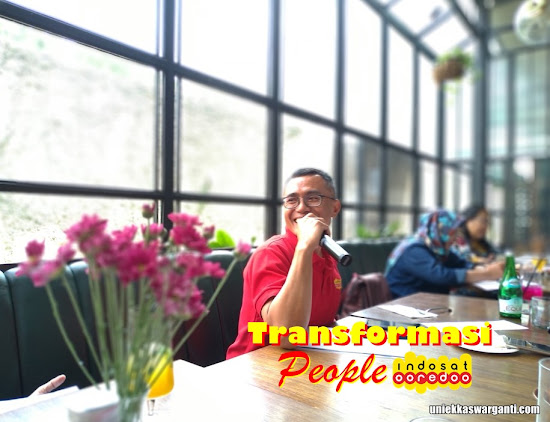 transformasi people di tim Indosat Ooredoo