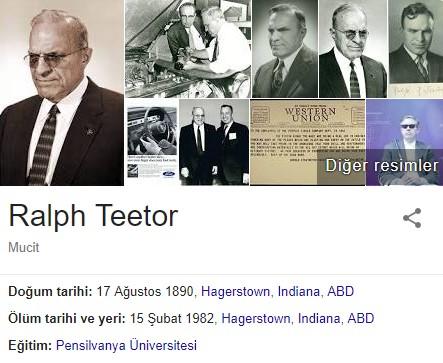 Ralph Teetor'un  Engeli Nedir