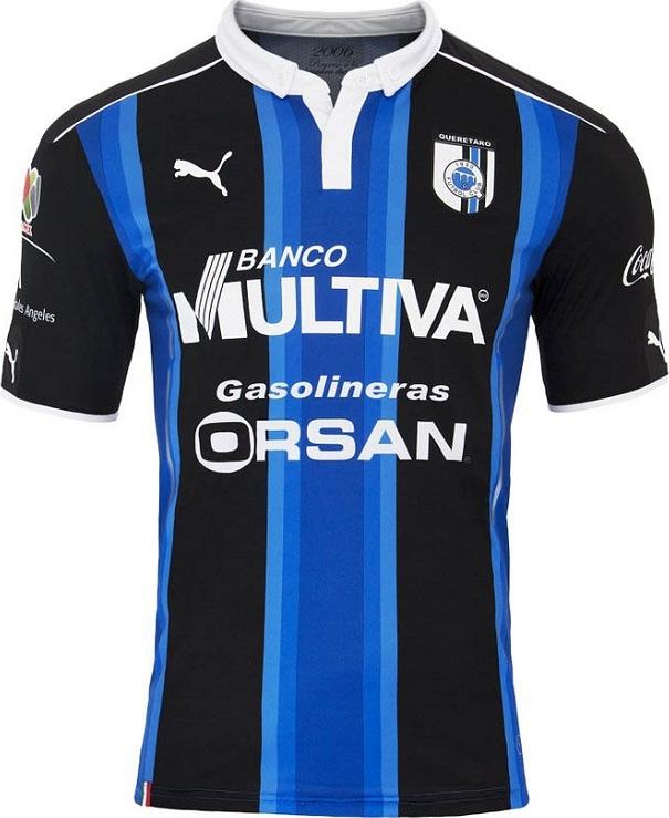 Puma apresenta as novas camisas do Querétaro - Show de Camisas aadf1fa4ba697
