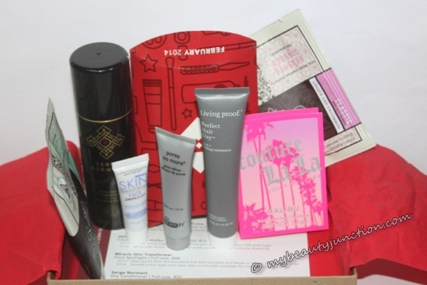 Birchbox beauty box contents