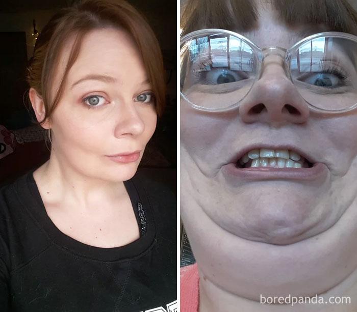 30 αστείες φωτογραφίες πριν και μετά που θα δυσκολευτείτε να πιστέψετε ότι πρόκειται για το ίδιο άτομο 81