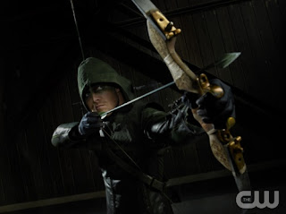 Stephen Amell as Oliver Queen Arrow in Arrow Pilot Episode