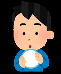 五感のイラスト(触角・男性)