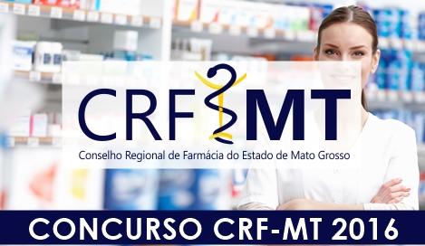 Concurso CRF MT 2016 Agente Administrativo
