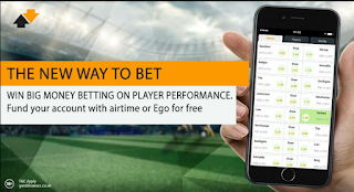 GidiGada - Win Big Money betting on Player's Performance