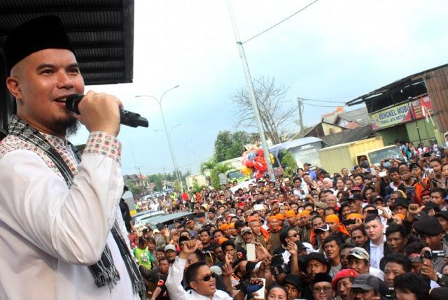 Ahmad Dhani Dilaporkan Ke Polisi Karena Sebut Jokowi A**ing Dan B**I