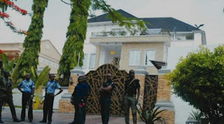 Police closedown Dino Melaye's house insisting he must surrender