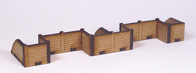 Crenelated Trench Section T25-10mm-01 front