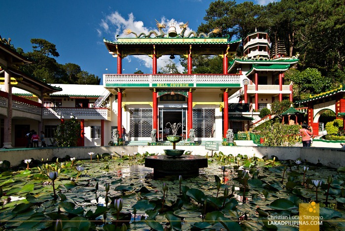 Baguio Bell Church Lotus Pond