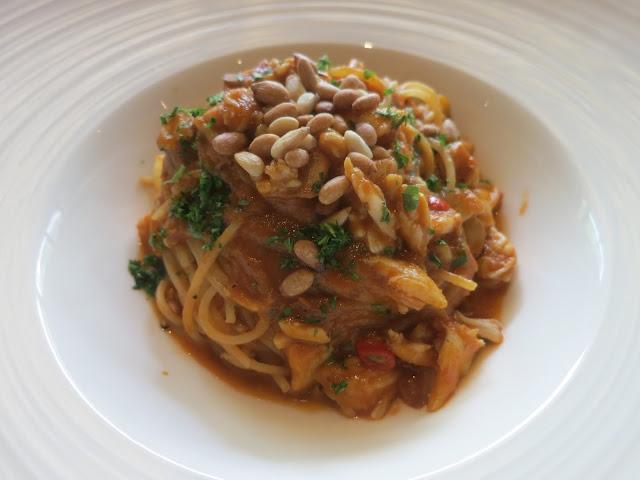 Spanner Crab Spaghettini