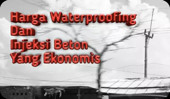 harga waterproofing