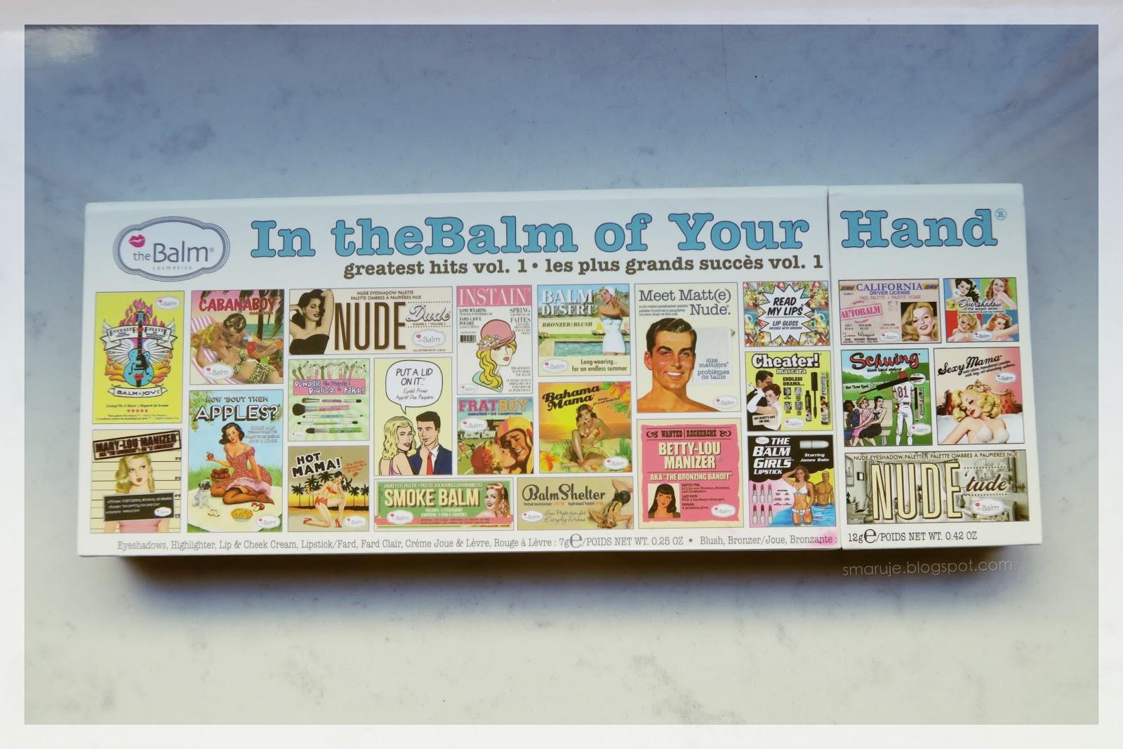 Przegląd produktów theBalm dzięki palecie In theBalm Of Your Hand