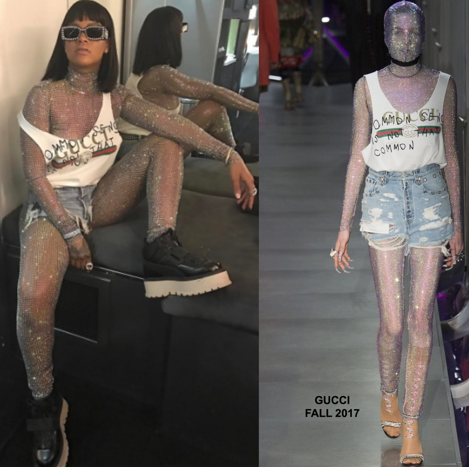 Instagram style rihanna in gucci for Style at home instagram