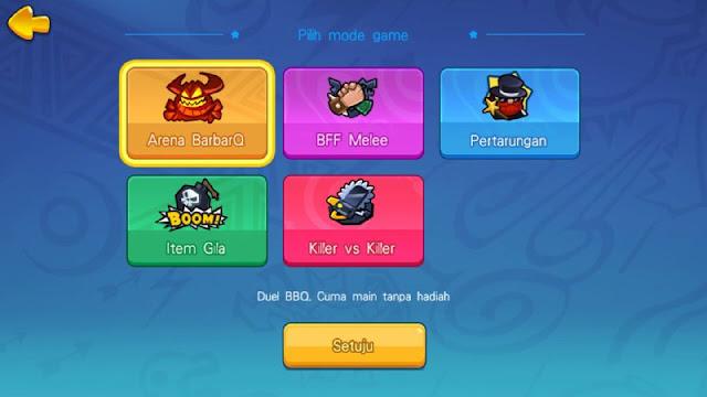 BarbarQ, Game Moba 6 Menit 3v3v3 dengan Grafis Pixel