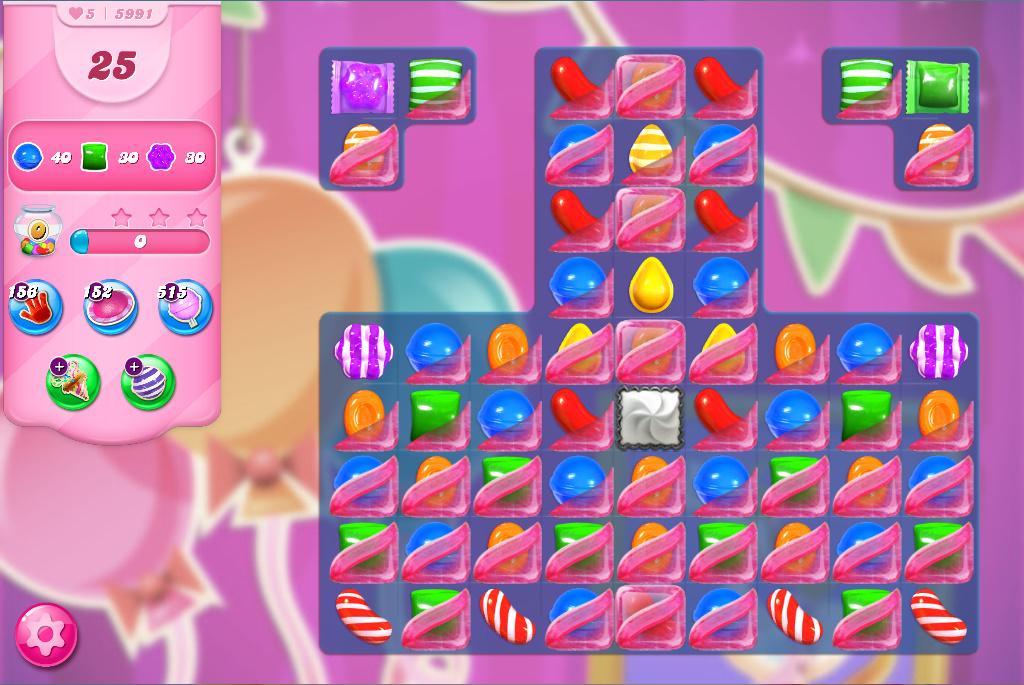 Candy Crush Saga level 5991