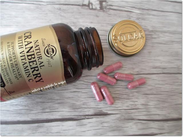 Complejo Vitamínico - Cápsulas de arándano rojo de Solgar