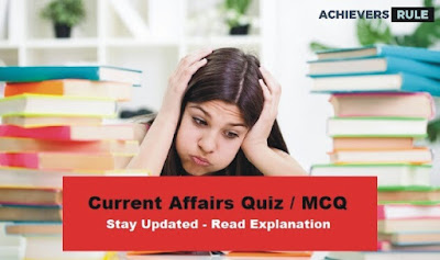 Daily Current Affairs MCQ - 17th & 18th September 2017