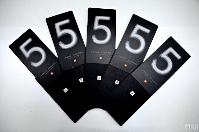 Undangan acara perilisan Xiaomi Mi5 sudah disebar