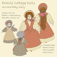 Prairie Cottage Dolls Pattern