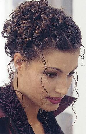 Miraculous Prom Hairstyles For Curly Hair Updo Short Hairstyles Gunalazisus