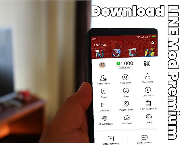 Download Aplikasi LINE Mod Premium Apk Terbaru