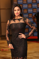 Actress Soniya Stills in Beautiful Black Long Dress at SIIMA Short Film Awards 2017 .COM 0007.JPG