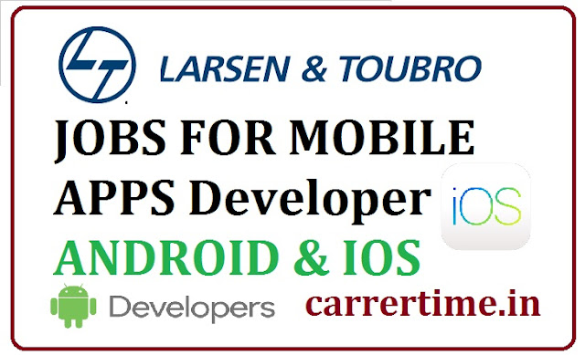iOS & aNDROID dEVELOPER jOBS