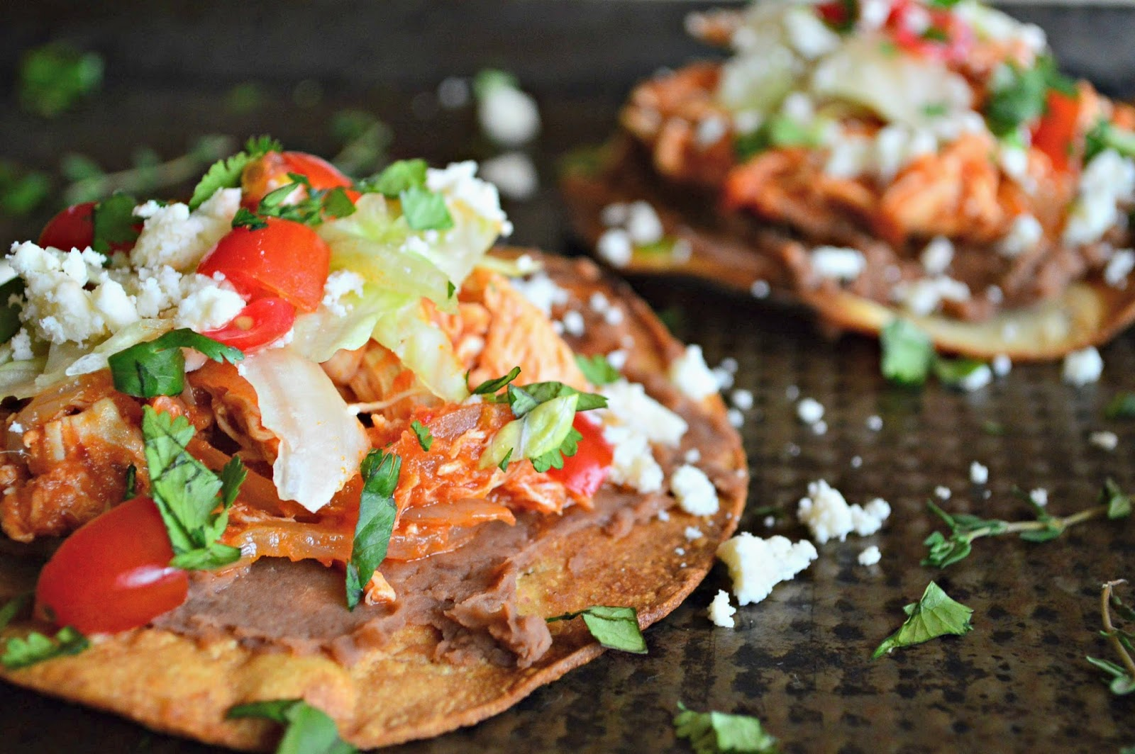 This is How I Cook: Pulled Chicken Tinga Tostadas and # ...